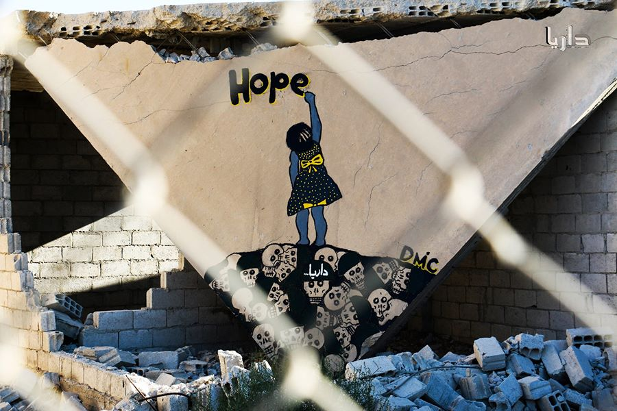 Syrian mural