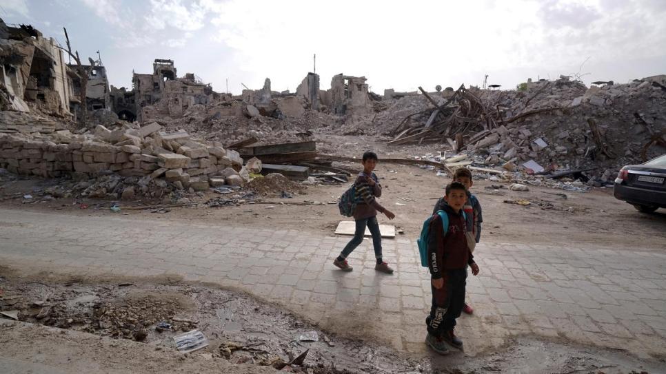 Aleppo ruins