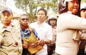 Arrest Demo Manokwari Cend Pos 141