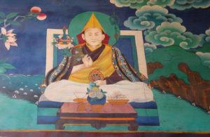 Dalai Lama Lhasa hidden mural