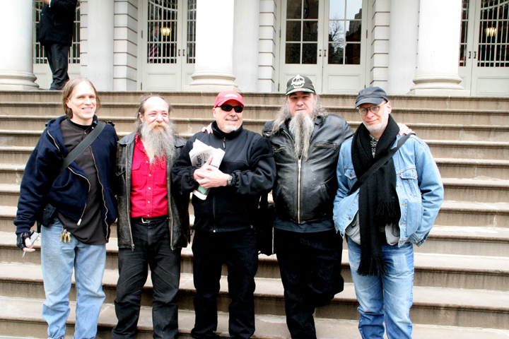 Tompkins Square anarchists ride again