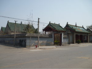 The mosque at Zhuxian