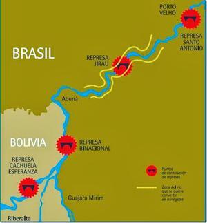 Bolivia dams