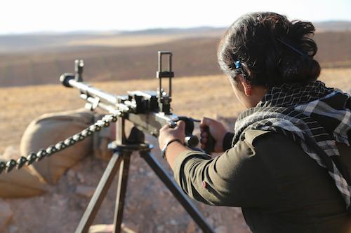 YPG fighter