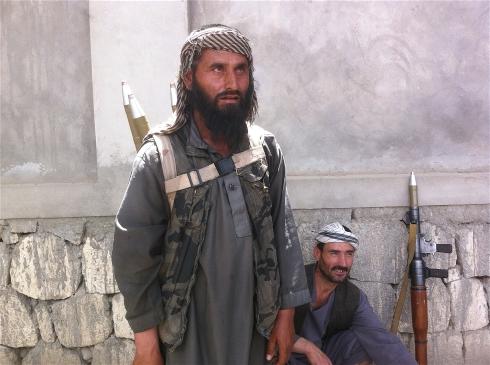 Afghan paramilitary