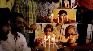 gauri lankesh protest 759
