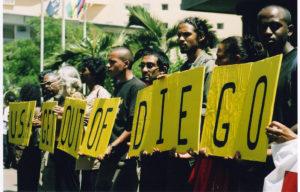 Diego Garcia protest