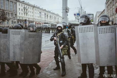 belarus cops