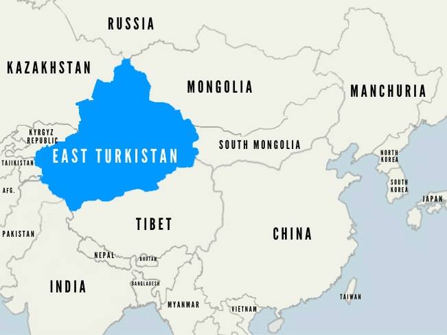 East Turkistan