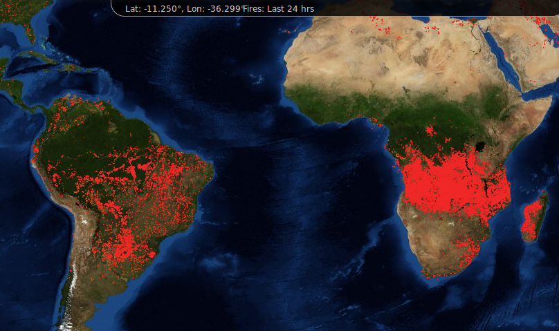 Africa fires