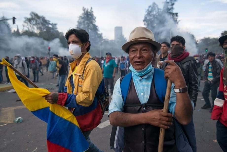 Quito protest