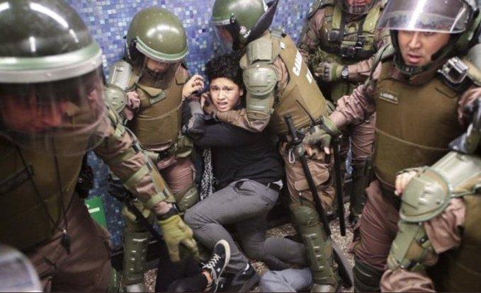 Santiago protest