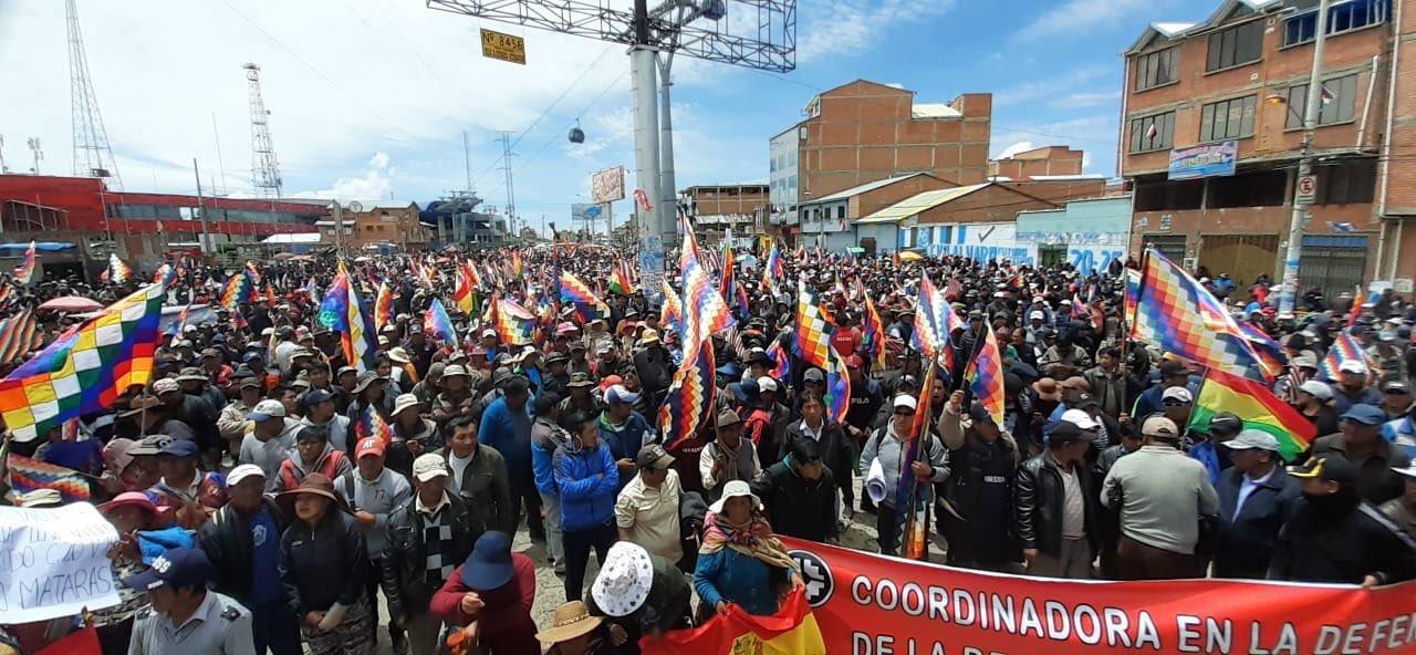 El Alto protest