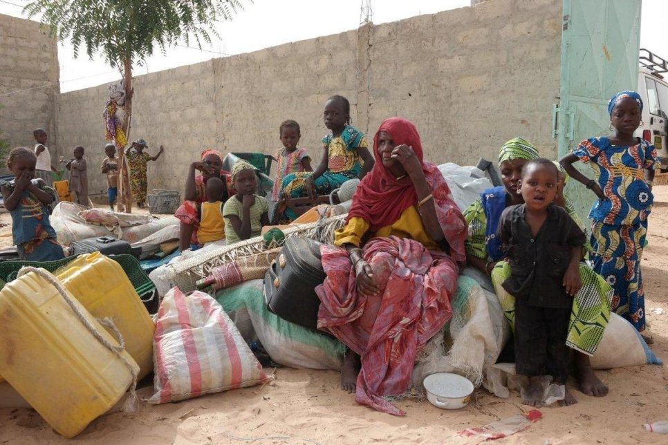 Niger displaced
