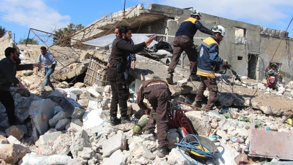 Idlib ruins