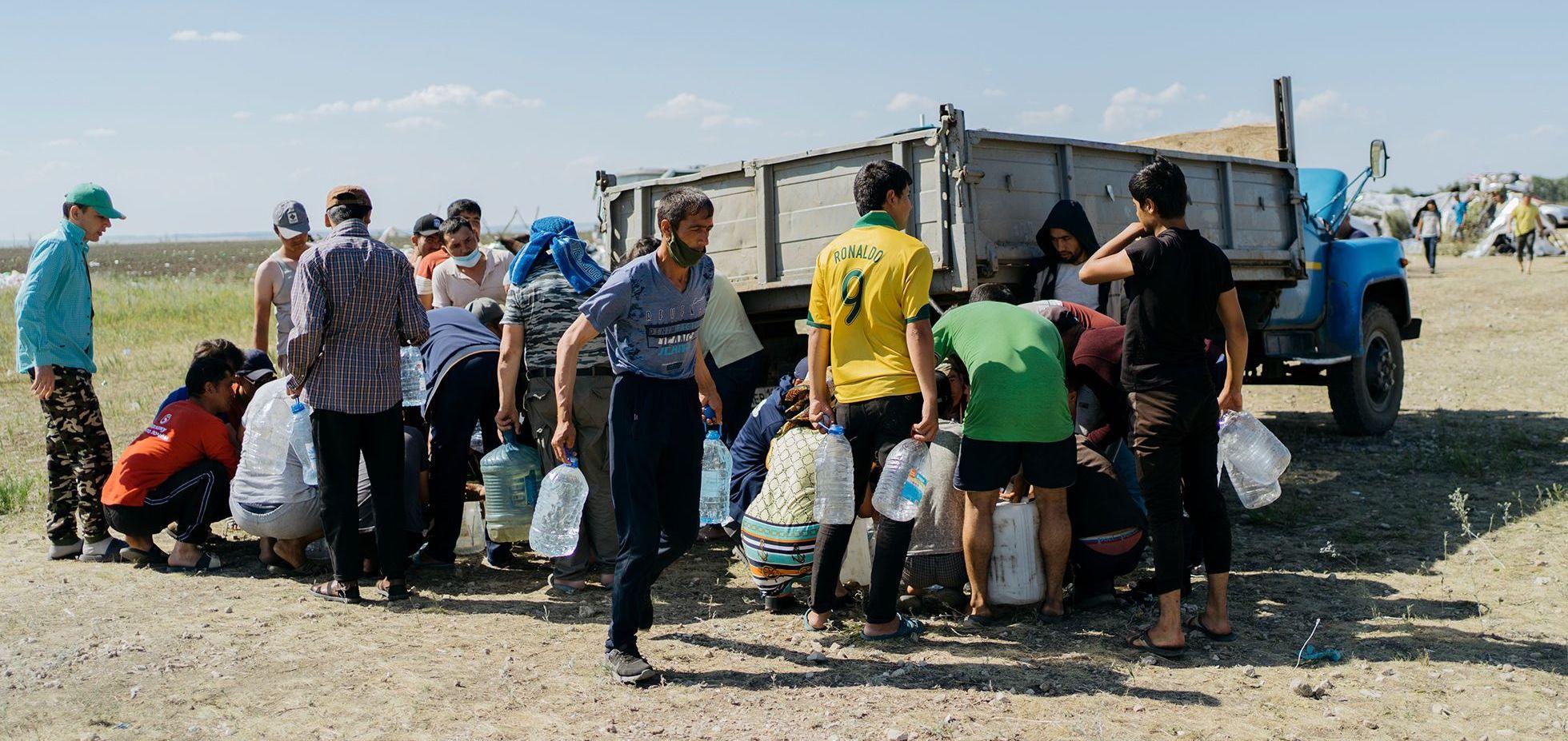 Uzbek migrants