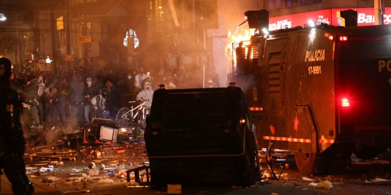 bogota riots