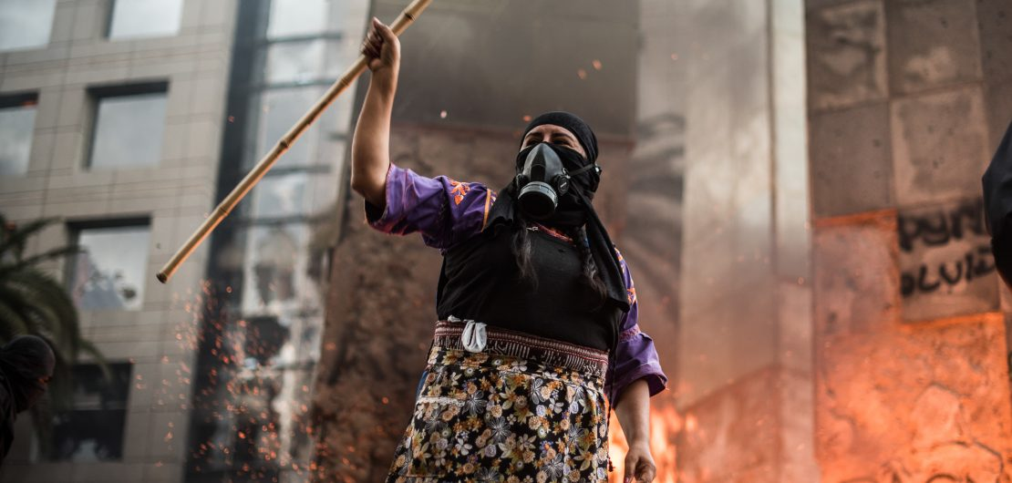 peru protester