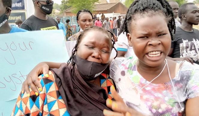 Juba protest
