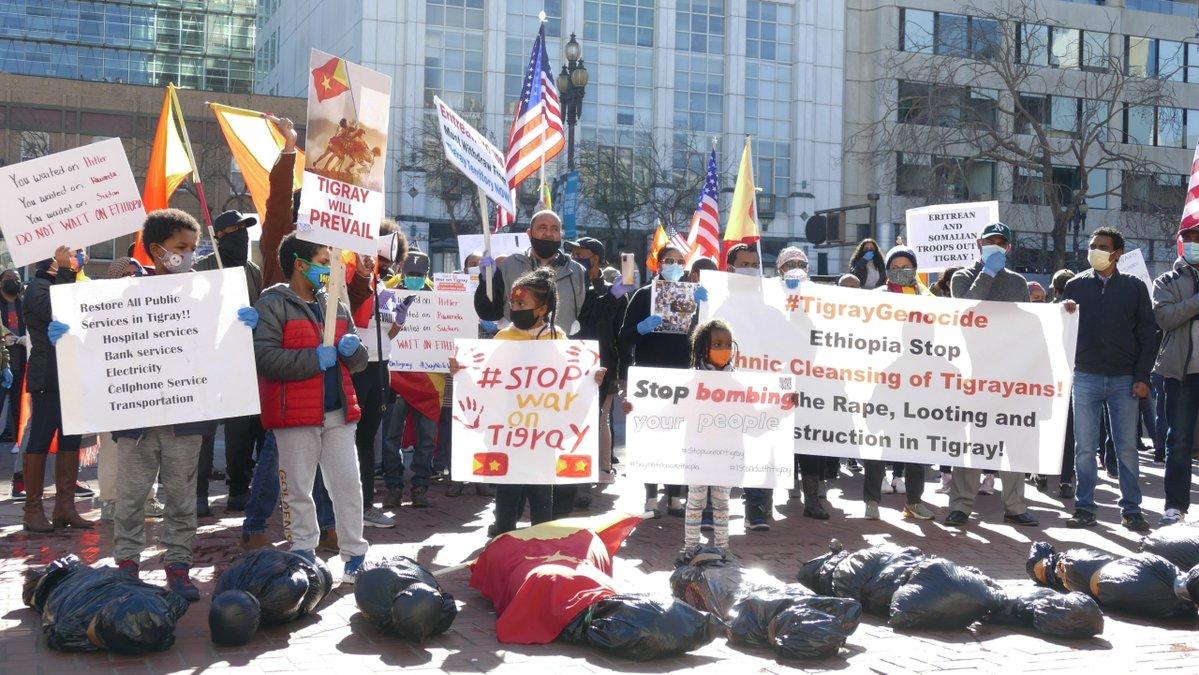 tigray protest