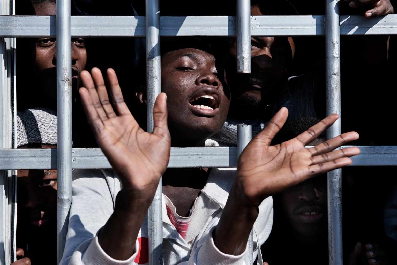 Libya detainee