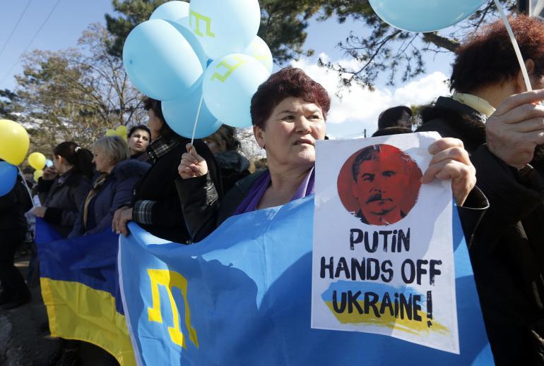 Crimea protest